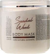 """Парфюми, Парфюмерия, козметика Маска за лице и тяло """"Сандалово дърво"""" - Hristina Cosmetics Sezmar Professional Body Mask Sandal Wood"""
