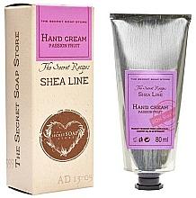 Парфюмерия и Козметика Крем за ръце с аромат на маракуя - The Secret Soap Store Shea Line Hand Cream Passion Fruit