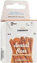 Парфюмерия и Козметика Конец за зъби с канела - The Humble Co. Dental Floss Cinnamon