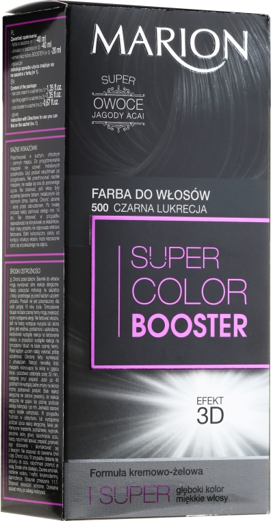 Боя за коса - Marion Super Color Booster