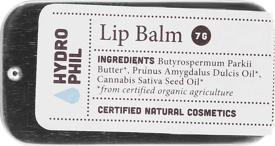 Подхранващ балсам за устни - Hydrophil Lip Balm