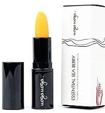 Парфюмерия и Козметика Натурален балсам за устни - Uoga Uoga Natural Lip Balm With Sea-Buckthorn Oil