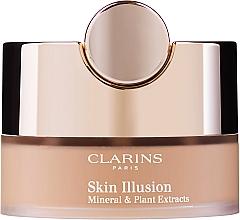 Парфюмерия и Козметика Минерална пудра на прах - Clarins Skin Illusion Loose Powder Foundation