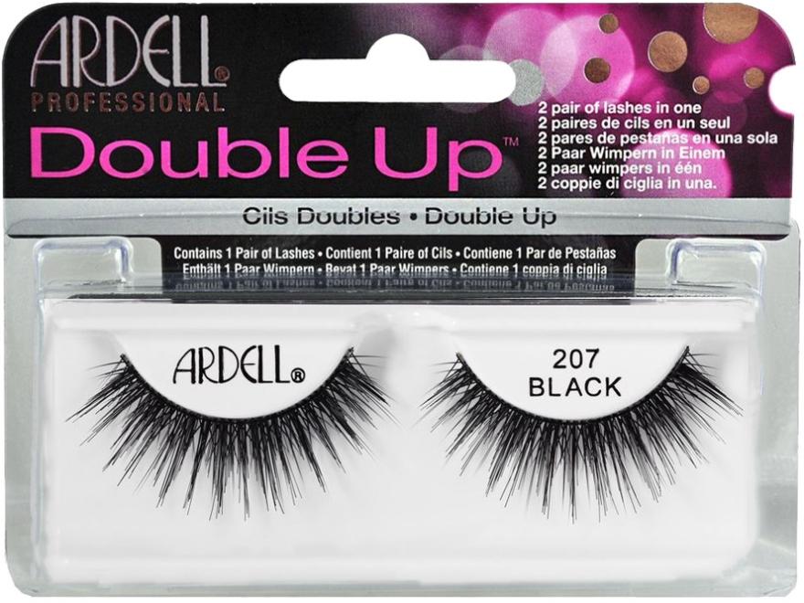 Изкуствени мигли - Ardell Double Up 207 Black — снимка N1