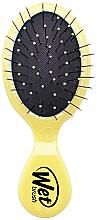 Парфюми, Парфюмерия, козметика Компактна четка за коса, желтая - Wet Brush Mini Squirt Classic