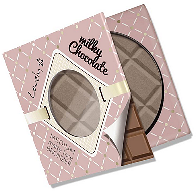 Бронзант за лице - Lovely Creamy Chocolate Deep Matte Bronze