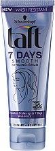 Парфюми, Парфюмерия, козметика Стилизиращ балсам за изглаждане на косата без изплакване - Schwarzkopf Taft 7 Days Smooth Stylyng Balm