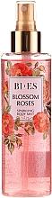 Bi-es Blossom Roses Sparkling Body Mist - Парфюмен мист за тяло с блестящи частици — снимка N1