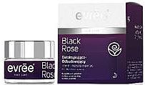 """Парфюмерия и Козметика Възстановяващ нощен крем за лице """"Черна роза"""" - Evree Black Rose"""