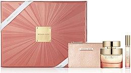 Парфюми, Парфюмерия, козметика Michael Kors Wonderlust - Комплект (edp/50ml + edp/mini/10ml + bag)