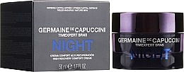 Парфюмерия и Козметика Възстановяващ нощен крем за лице - Germaine de Capuccini Timexpert SRNS Night High Recovery Comfort Cream