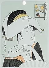 Парфюмерия и Козметика Памучна маска за лице с хиалуронова киселина и литоспермум - Mitomo Essence Sheet Mask Hyaluronic + Lithospermum