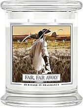 Парфюми, Парфюмерия, козметика Ароматна свещ в бурканче - Kringle Candle Far Far Away