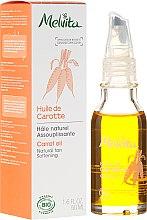 Парфюмерия и Козметика Масло от морков за лице - Melvita Huiles De Beaute Carrot Oil