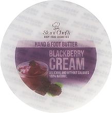 """Парфюмерия и Козметика Масло за ръце и крака """"Къпинов крем"""" - Stani Chef's Blackberry Cream Hand & Foot Butter"""