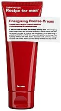 Парфюмерия и Козметика Бронзиращ крем за мъже - Recipe For Men Energizing Bronze Cream
