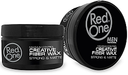 Парфюмерия и Козметика Восък за коса - RedOne Professional Men Creative Fiber Wax Maximum Control Strong Hold & Matte
