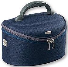 Парфюми, Парфюмерия, козметика Козметична чанта , овална, 95078, син цвят - Top Choice Oval Navy