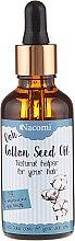 Парфюмерия и Козметика Масло от памук за коса - Nacomi Cotton Seed Oil