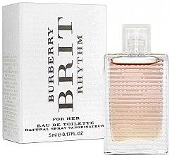 Парфюми, Парфюмерия, козметика Burberry Brit Rhythm For Her - Тоалетна вода