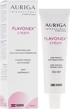 Укрепващ крем за лице и тяло - Auriga Flavonex Skin Ageing And Elasticity — снимка N1