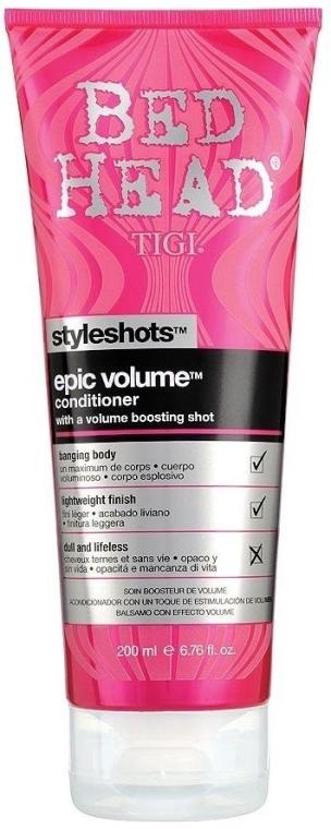 Балсам за допълнителен обем - Tigi Bed Head Styleshots Epic Volume Conditioner — снимка N1