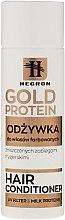 Парфюмерия и Козметика Балсам за боядисана коса - Hegron Gold Protein Hair Conditioner
