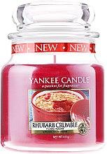 Парфюми, Парфюмерия, козметика Свещ в стъклено бурканче - Yankee Candle Rhubarb Crumble
