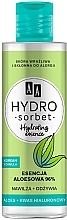 Парфюмерия и Козметика Хидратираща есенция за лице с алое - AA Hydro Sorbet Korean Formula Hydrating Essence