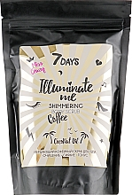 Парфюмерия и Козметика Блестящ кофеинов скраб за тяло - 7 Days Illuminate Me Miss Crazy Coffee Shimmering Body Scrub