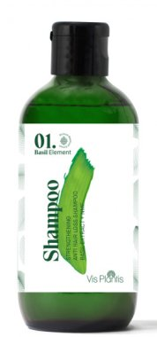 Укрепващ шампоан против косопад (мини) - Vis Plantis Basil Element Strengthening Anti-Hair Loss Shampoo