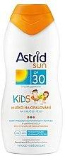 Парфюми, Парфюмерия, козметика Детско слънцезащитно мляко - Astrid Sun Kids Milk SPF 30