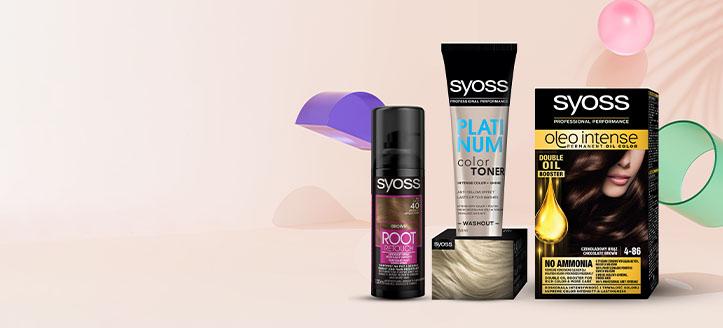 Намаление 25% на промоционални продукти грижа за коса Syoss. Посочената цена е след обявената отстъпка