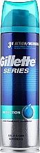 """Парфюмерия и Козметика Гел за бръснене """"Защита"""" - Gillette Series Protection Shave Gel for Men"""