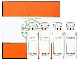 Парфюмерия и Козметика Hermes Miniature Set Garden - Комплект тоалетна вода (edt/7.5ml + edt/7.5ml + edt/7.5ml + edt/7.5ml)
