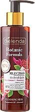 Парфюми, Парфюмерия, козметика Почистващо мляко за лице - Bielenda Botanic Formula Pomegranate Oil + Amaranth Cleansing Milk