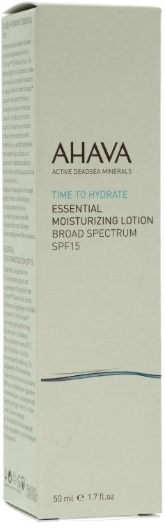 Овлажняващ лек крем SPF 15 - Ahava Essential Moisturizing Lotion Broad — снимка N1