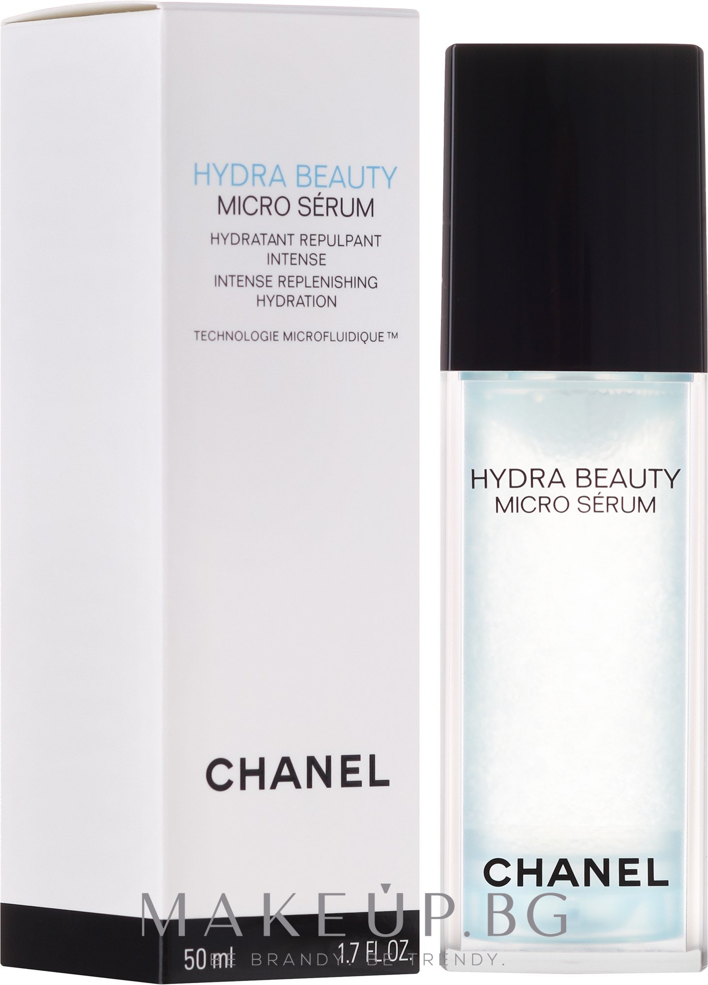 Овлажняващ серум за лице - Chanel Hydra Beauty Micro Serum — снимка 50 ml