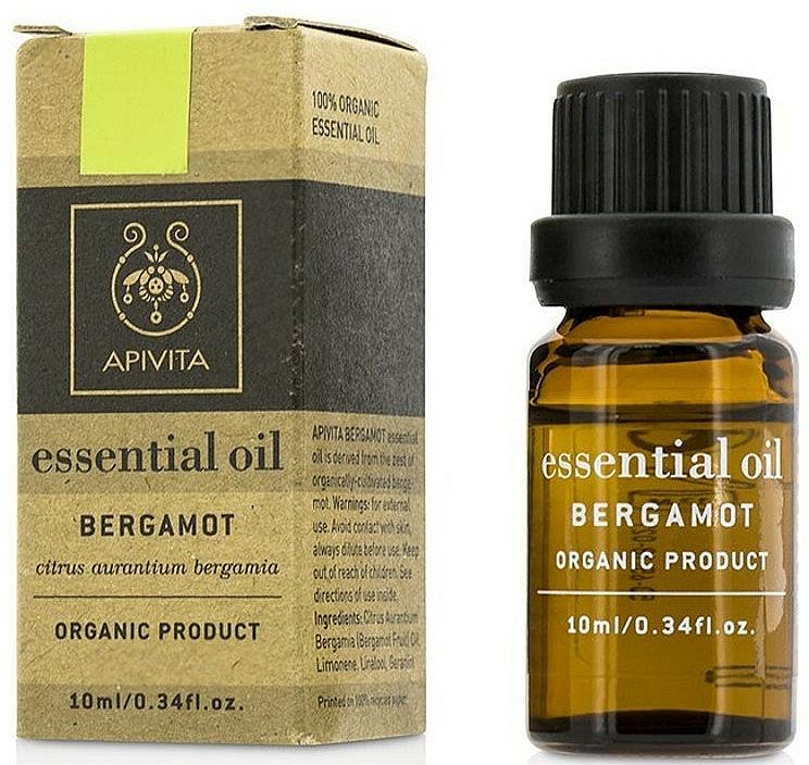 "Етерично масло ""Бергамот"" - Apivita Aromatherapy Organic Bergamot Oil  — снимка N1"
