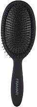 Парфюмерия и Козметика Четка за коса, черна - Framar Detangle Brush Black To The Future