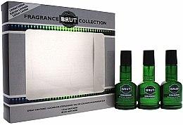 Парфюми, Парфюмерия, козметика Brut Parfums Fragrance Collection - Комплект одеколони (cologne/3x30ml)