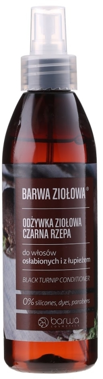 Спрей-балсам с черна ряпа за слаба коса - Barwa Herbal Conditioner