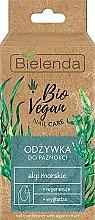 """Парфюмерия и Козметика Грижа за нокти """"Морски водорасли"""" - Bielenda Bio Vegan Nail Care Sea Algae"""