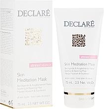Парфюмерия и Козметика Интензивна успокояваща маска за лице - Declare Stress Balance Skin Meditation Mask
