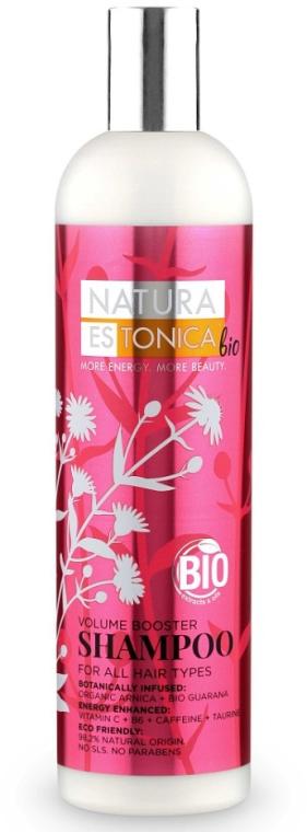 Шампоан за всички видове коса - Natura Estonica Volume Booster Shampoo