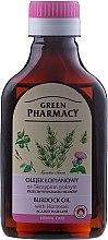 Парфюмерия и Козметика Масло против косопад с екстракт от хвощ - Green Pharmacy