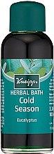 "Парфюмерия и Козметика Масло за вана ""Евкалипт"" - Kneipp Eucalyptus Herbal Bath"