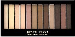 Парфюми, Парфюмерия, козметика Палитра сенки за очи, 12 цвята - Makeup Revolution Redemption Palette Essential Mattes 2
