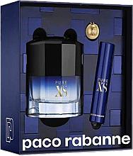 Парфюмерия и Козметика Paco Rabanne Pure XS - Комплект тоалетна вода (edt/50ml + edt/mini/10ml)
