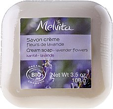 "Парфюми, Парфюмерия, козметика Сапун ""Лавандула"" - Melvita Body Care Savon Lavender Flowers Soap"
